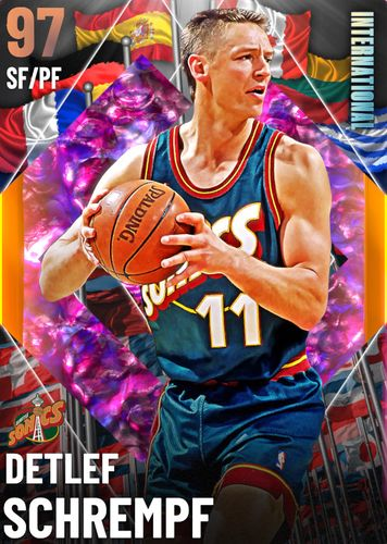 Detlef Schrempf NBA 2K21 MyTEAM Card