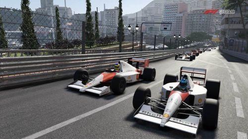 Two 1988 McLaren's side by side in Monaco in F1 2019