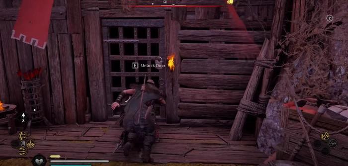 Assassins Creed Valhalla Huntsman Helm Unlock Door