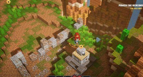 Minecraft Dungeons Cacti Canyon secret location 1