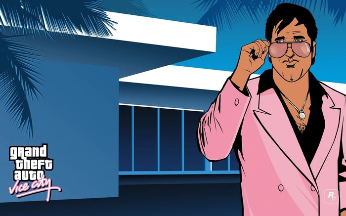 Grand Theft Auto Vice City Loading Screen