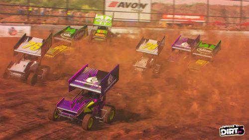 dirt 5 sprint cars 1