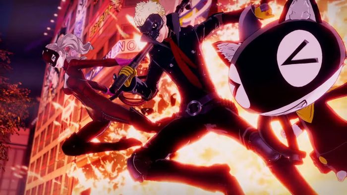 Persona 5 Strikers Story explosion