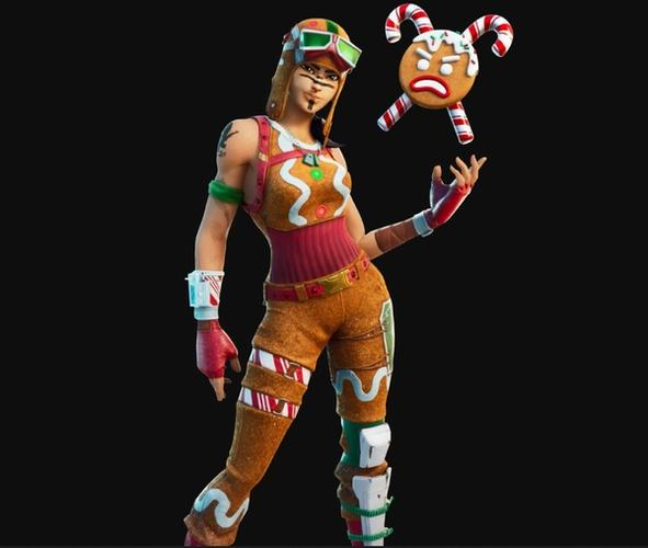 Fortnite Gingerbread Renegage Raider