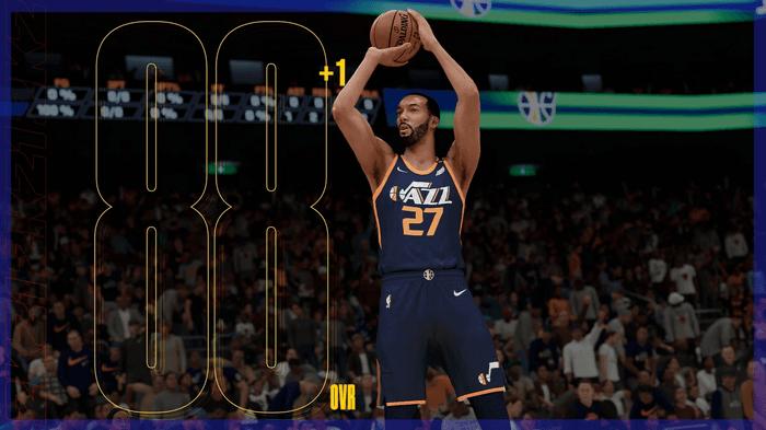 NBA 2K21 roster update ratings Rudy Gobert
