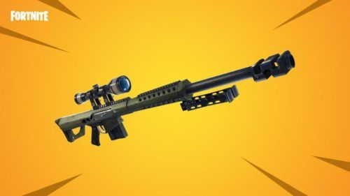 Heavy Sniper in Fortnite Chapter 2 Season 2