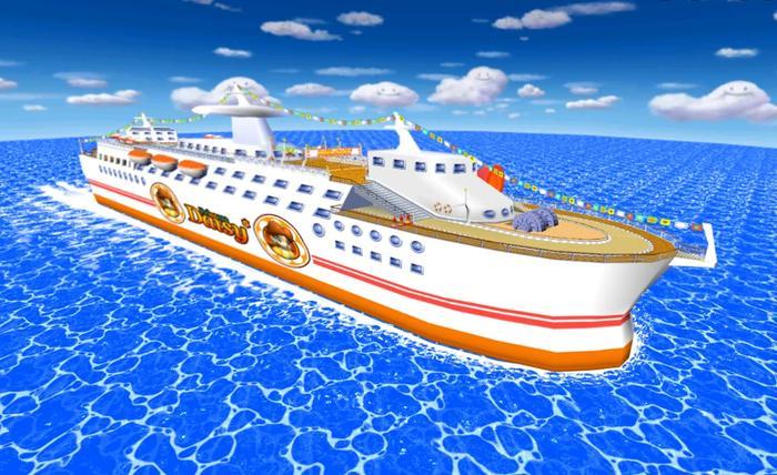 NBA 2K22 cruise ship