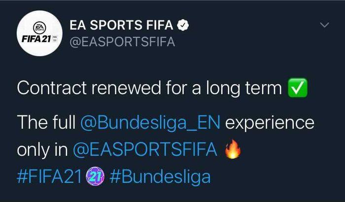 ea sports fifa bundesliga announcement