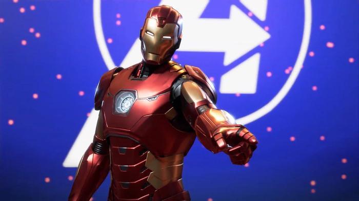 Square Enix Presents Avengers Marvel Iron Man