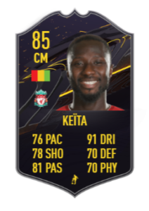 keïta storyline