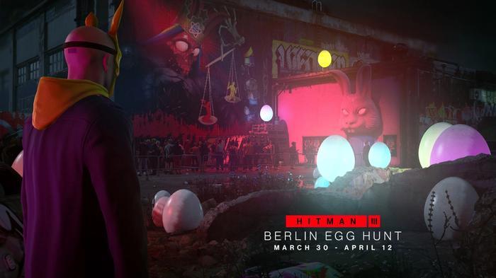 Hitman 3 March Roadmap Berlin Egg Hunt