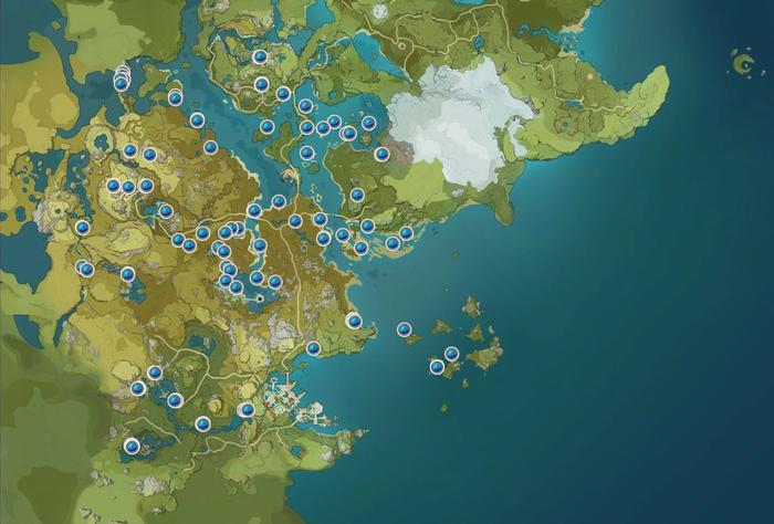 Genshin Impact Mist Flower Corolla Locations