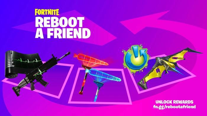 Fortnite Reboot A Friend April 2021 Cosmetics