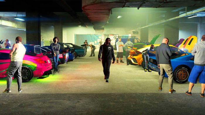 GTA Online Los Santos Car Meet