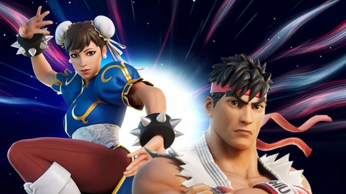 Fortnite Chun Li Ryu Street Fighter