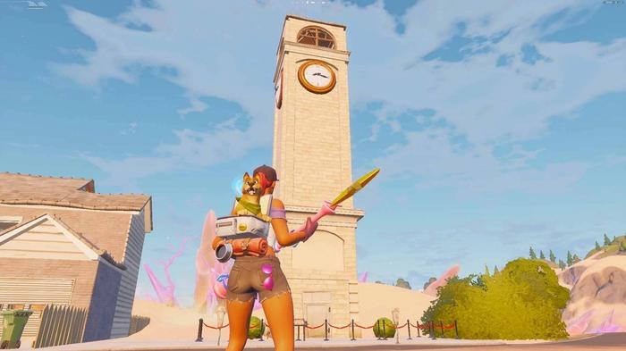 Fortnite Chapter 2 Season 5 Salty Towers Tilted Clocktower