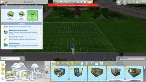 Building a Tiny Home in The Sims 4: Tiny Living
