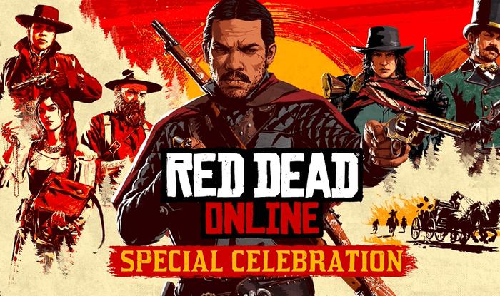 red dead online celebration
