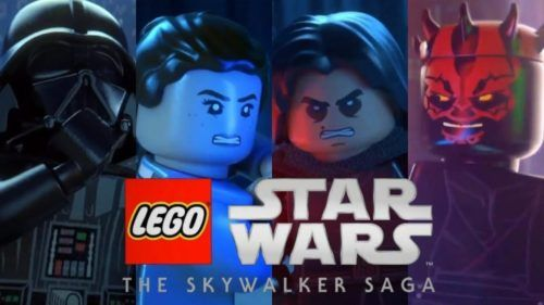 Lego Star Wars The Skywalker Saga main characters