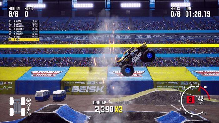 Monster Truck Sim stunts min1