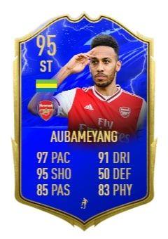 aubameyang FIFA 20 TOTS