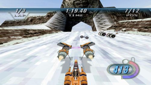 star wars racer gameplay 02