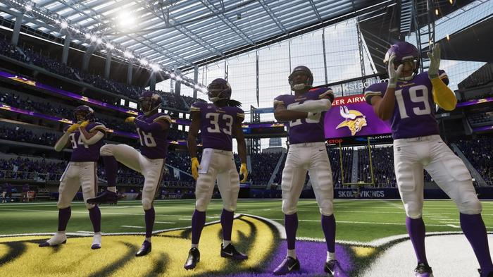 The Minnesota Vikings in Madden 22