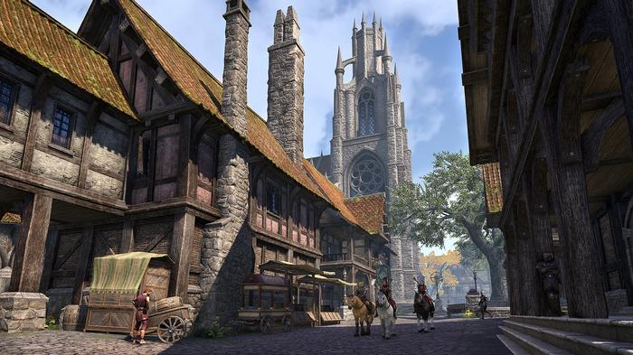 LEYAWIIN - Some parts of the Blackwood Chapter will be familiar to fans of the Elder Scrolls.