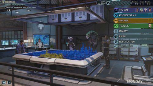 XCOM Chimera Squad HQ Management