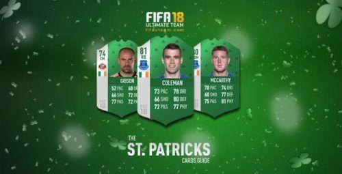 FIFA 18 St Patricks Day Cards