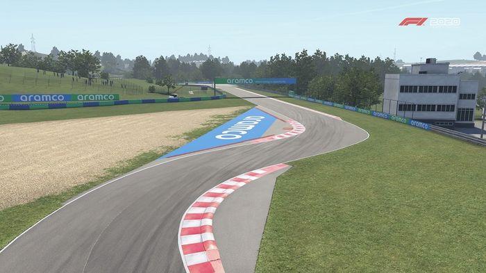 F1 2020 Hungarian GP Hungaroring Turns 6 7