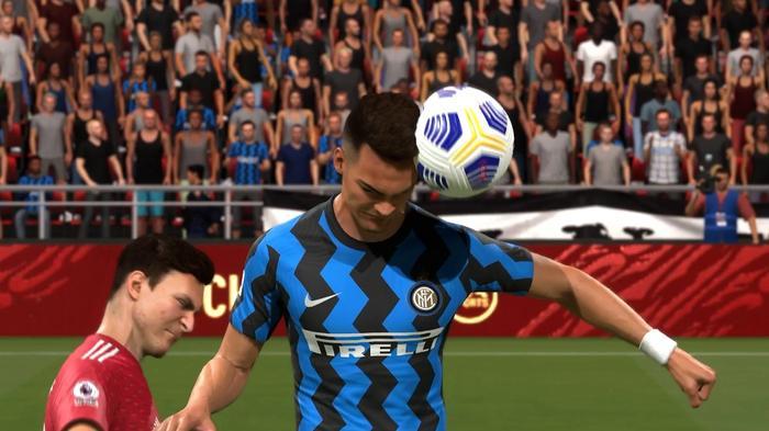 FIFA 21 Header gameplay