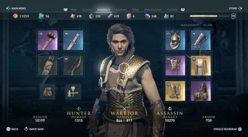 assassins creed valhalla how to upgrade