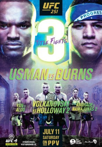 UFC announcement