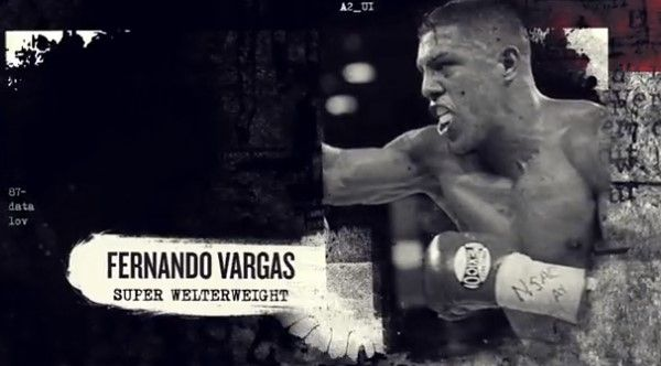 The image of Fernando Vargas in eSports Boxing Club