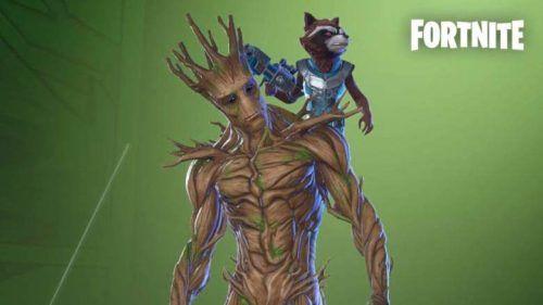rocket raccoon fortnite groot awakening challenges 1