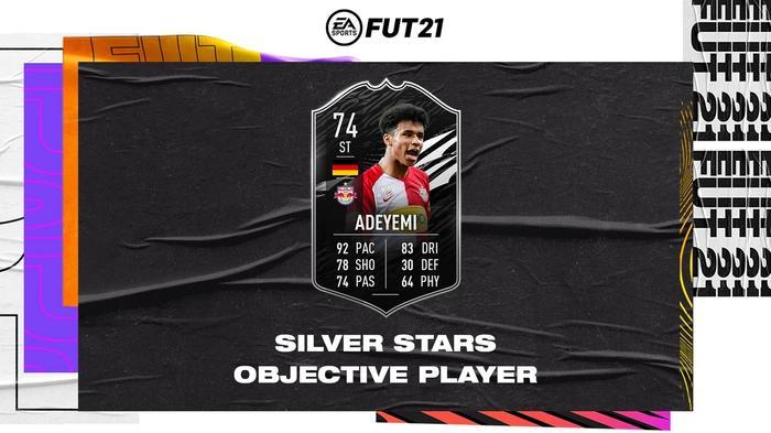 Silver Stars Adeyemi objectives fifa 21