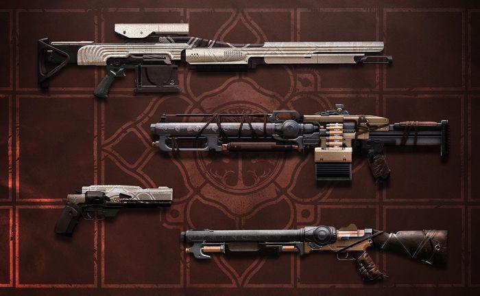 Destiny 2 Iron Banner Weapons Season 14