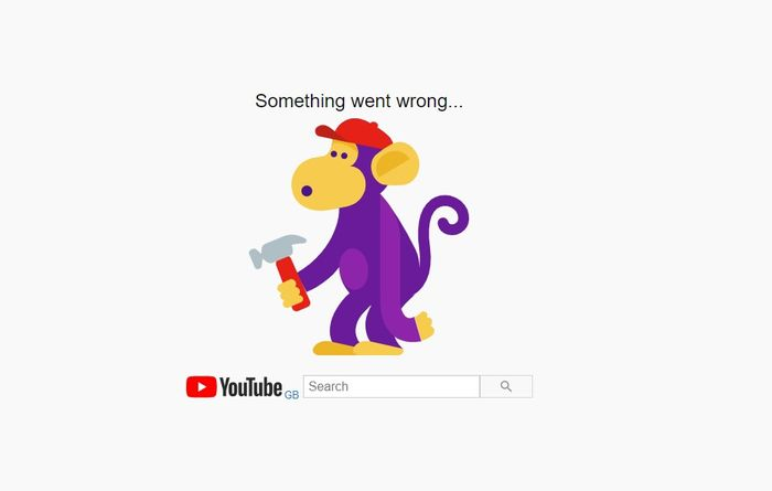 DOWN: YouTube is down
