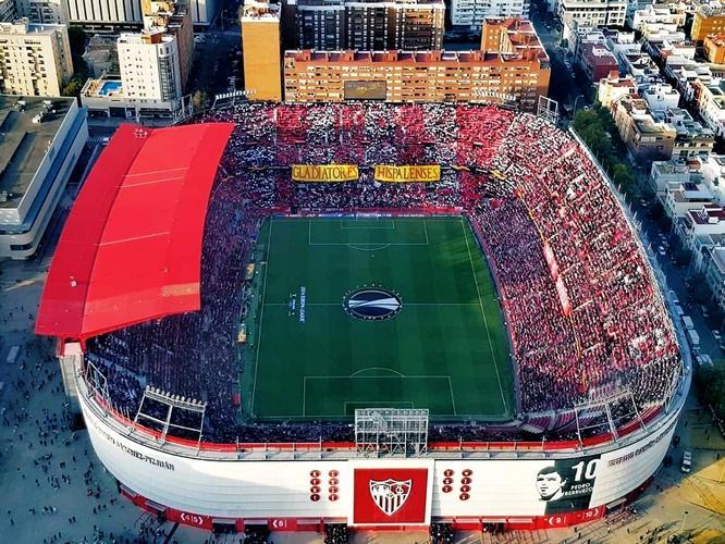sevilla fc stadium Estadio Ramon Sanchez-Pizjuan