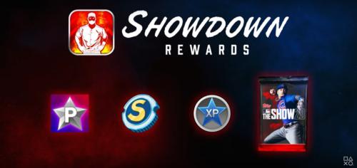 Showdown rewards