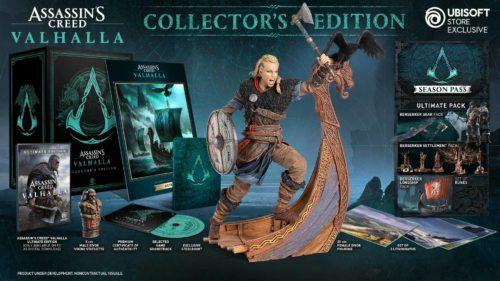 assassins creed valhalla collectors edition