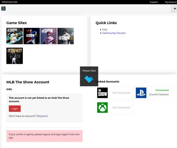 MLB The Show 21 Link Account Cross Platform Saves