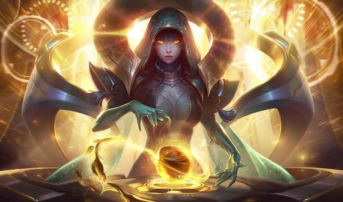 League of Legends Sona Skin Splash Art