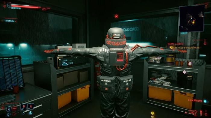 Cyberpunk 2077 Glitch Visual Bug PS4 Xbox One