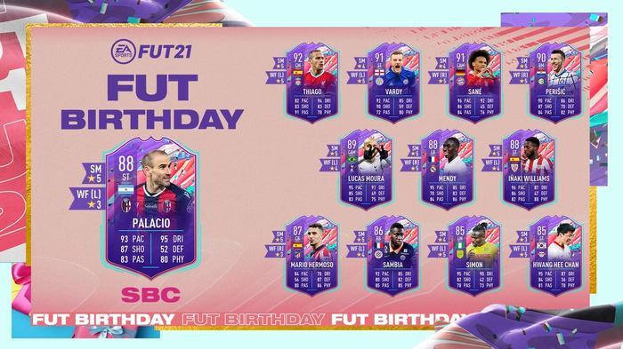 FIFA 21 FUT Birthday SBC Rodrigo Palacio