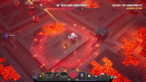 redstone monstrosity boss