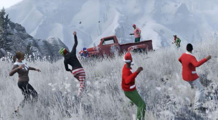 GTA Online Festive Surprise Content