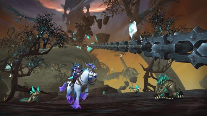 WoW Shadowlands 9.1 new zone mount