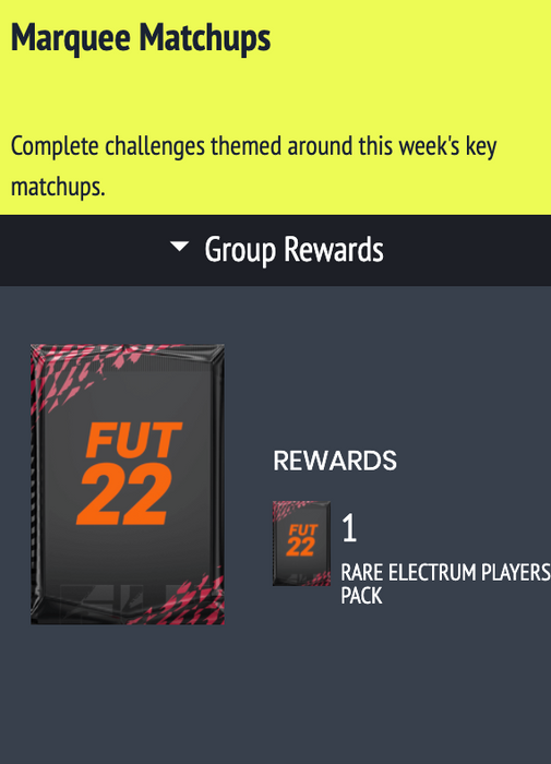 marquee matchups fifa 22